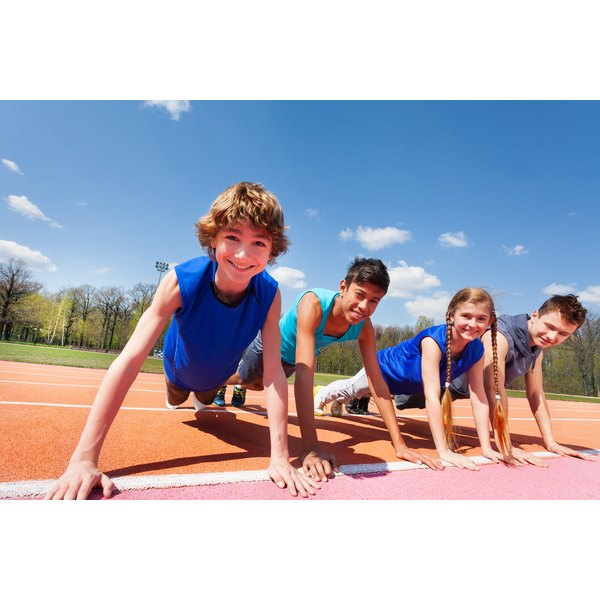 Teens need exercise to stay healthy.