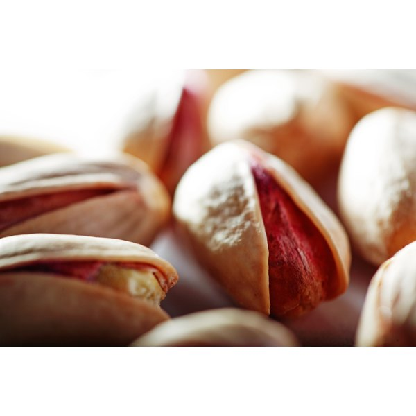 Pistachios are high in copper.