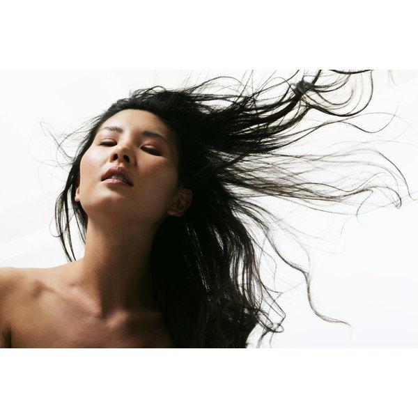 Regular shampooing prevents oily hair.