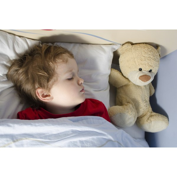 Snoring in toddlers may make them sleepy and irritable during the day.