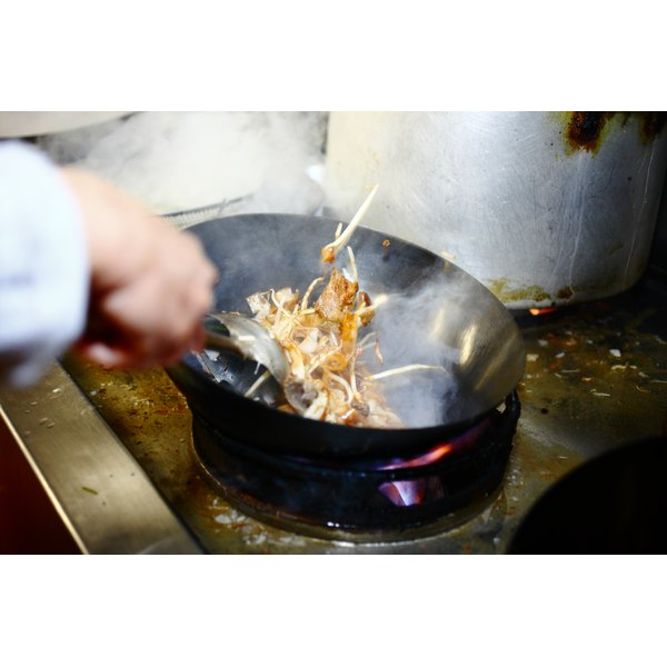 Reduction sauces can add a flourish to stir-fries.