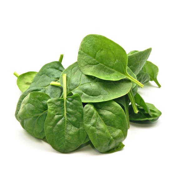Spinach is a healthy option for low-calorie diets.
