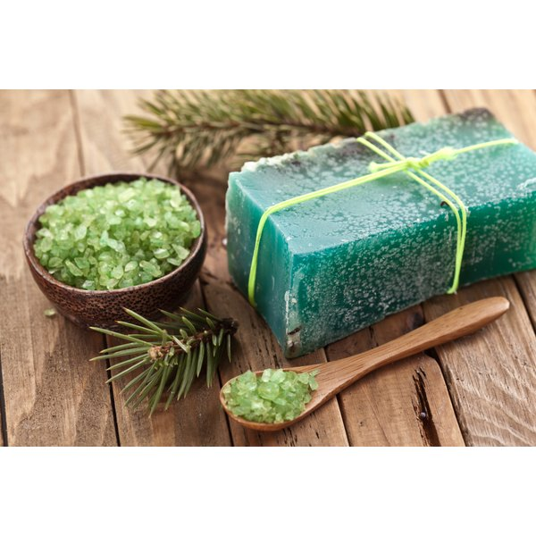 A bar of pine soap.
