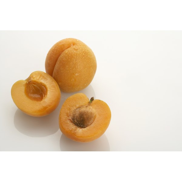 Eat the flesh of an apricot, but skip the kernel.