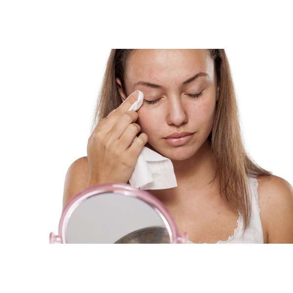 Clean your eyelids daily.