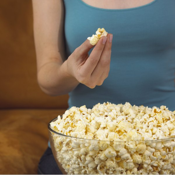 Treat popcorn butter stains immediately for the best chances of stain removal.