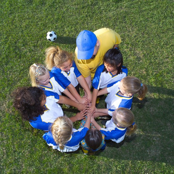 Sports teaches children about teamwork -- an important leadership skill.