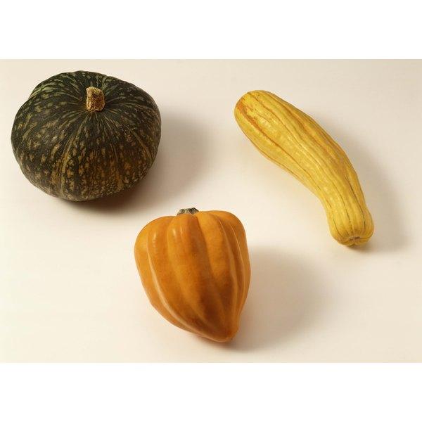 Kabocha has a sweet taste and a potato-like texture.