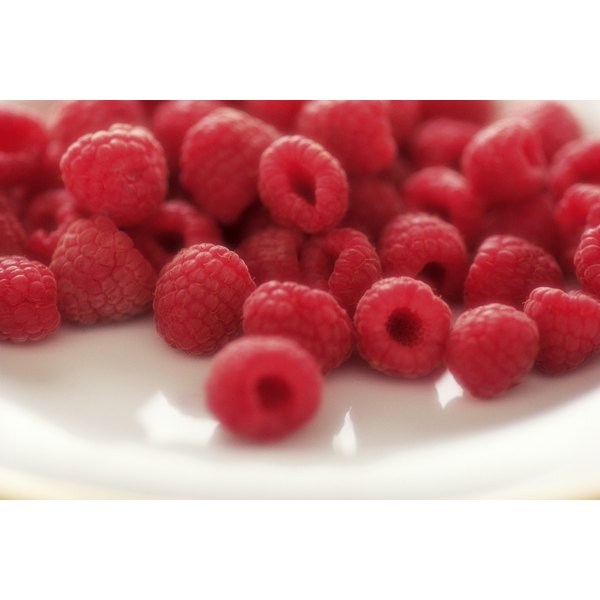 Red raspberries pack a nutritional punch.