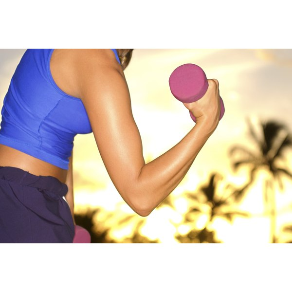 Strength training can promote weight loss without buffing you up.
