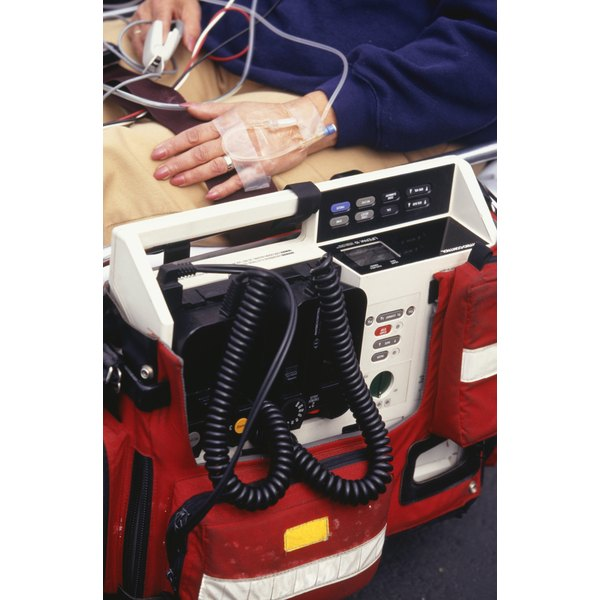 A defibrillator can be used to treat a rapid heart rate.
