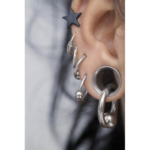 Use ear cuffs to get this look without the pain.