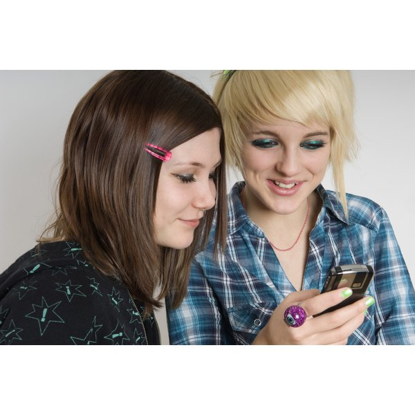 If your teen has a cell phone, you'll want to teach her how to be polite while using it.