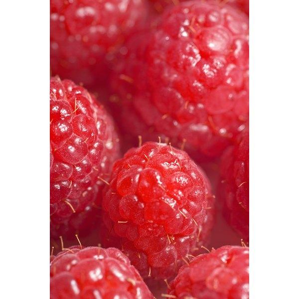 Raspberries add natural sweetness to fresh-squeezed lemonade.