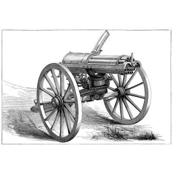 1800 S Colonial Scene On Demand: Early American Military Weapons In The 1800s