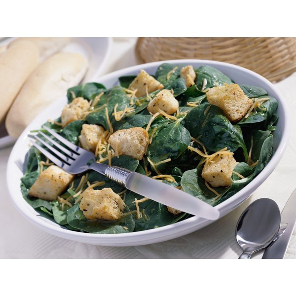 A cup of spinach is a good source of vitamin E.