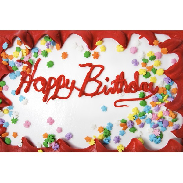 Celebrate With Birthday Cake And Send Guests Home Party Favors As A Friendly Gesture