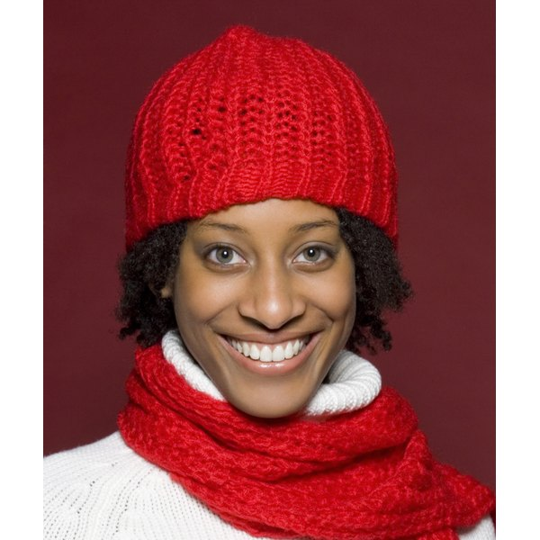 Wool hats can cause unnecessary friction and moisture loss in hair during the winter months.