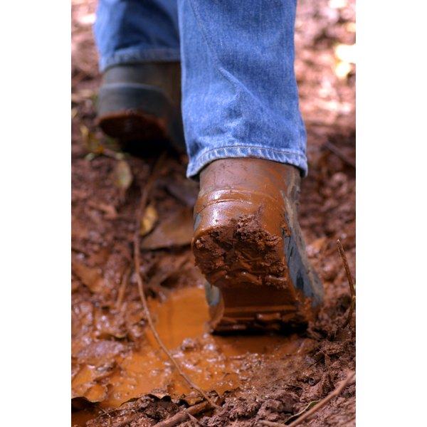 Condition and waterproof your boots before wearing them.