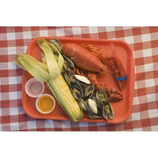 Lobster can make a quick and delicious meal when in season.