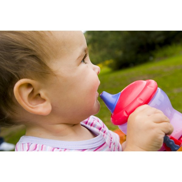 If a sippy cup has a foul odor even after cleaning and sterilizing, throw it out.