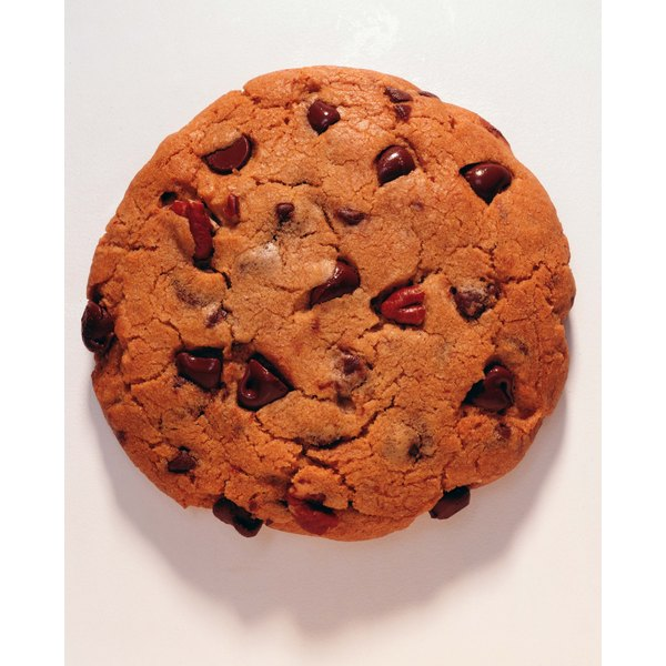 Preventing a cookie from flattening in the oven improves its softness.