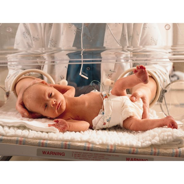 Full-term babies have more developed lungs than premature babies.