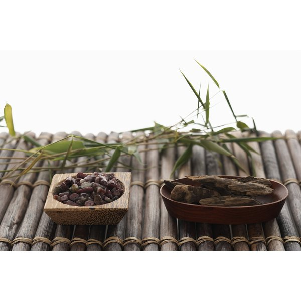Bamboo leaves can be turned into tea.
