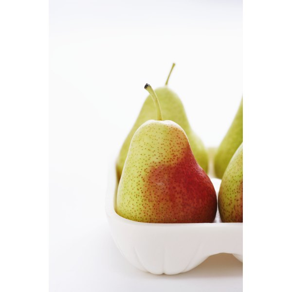 Forelle pears can be identified by their distinctive red spots.