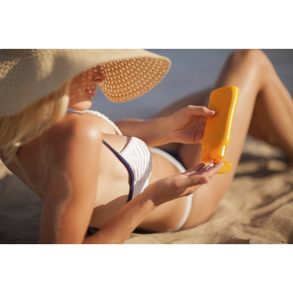 Sunscreens protect skin from damage but limit vitamin D absorption.