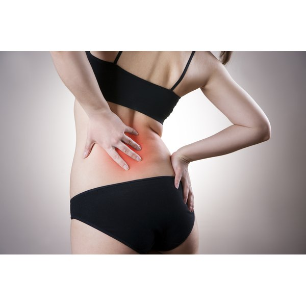 Arthritis can cause lower back pain.