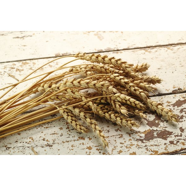Cracked wheat is high in iron and fiber.