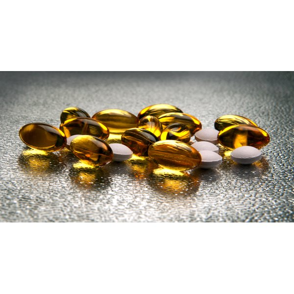 Vitamin E and D have anti-inflammatory effects.
