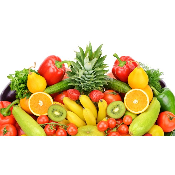 Fruits and vegetables are low in fat and calories and high in nutrients that rev up your metabolism.