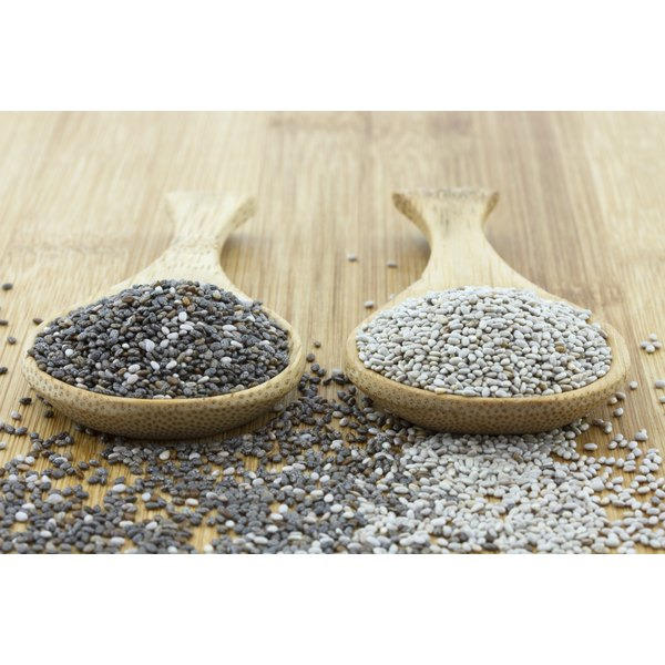 Chia seeds are full of Omega 3.