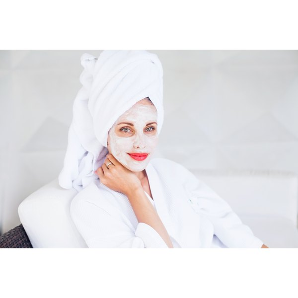 Face masks may improve a wrinkled appearance.