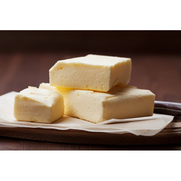 Organic butter is free of pesticides and hormones.
