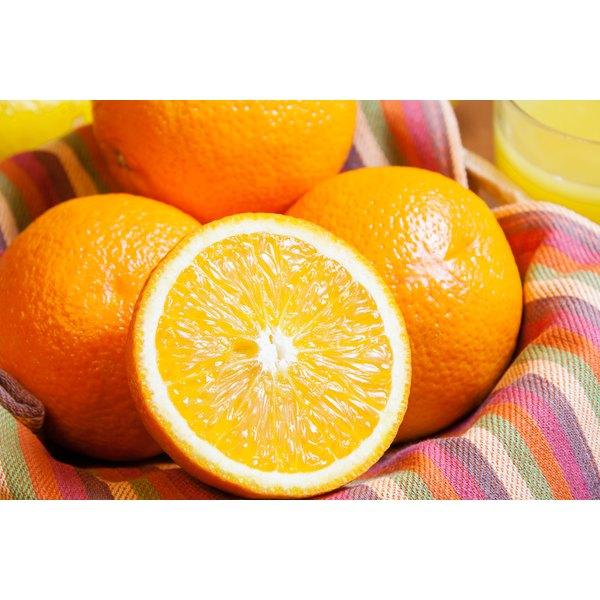 Close-up of a bowl of oranges.