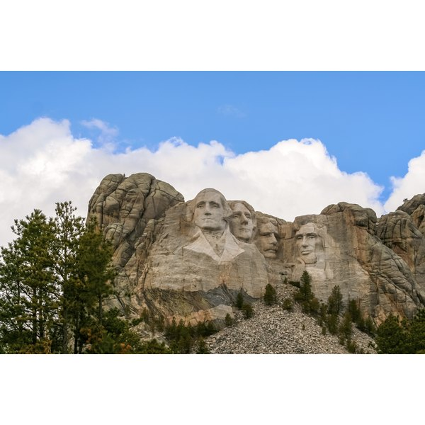 Visitors to Mount Rushmore often take home Black Hills jewelry as a souvenir.