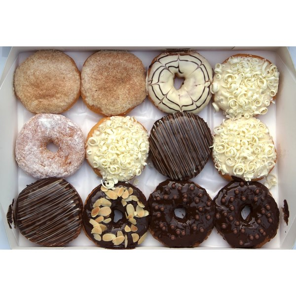 Overeating processed carbs such as donuts can adversely affect health.
