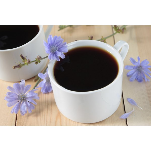 Chicory root extract is two white cups