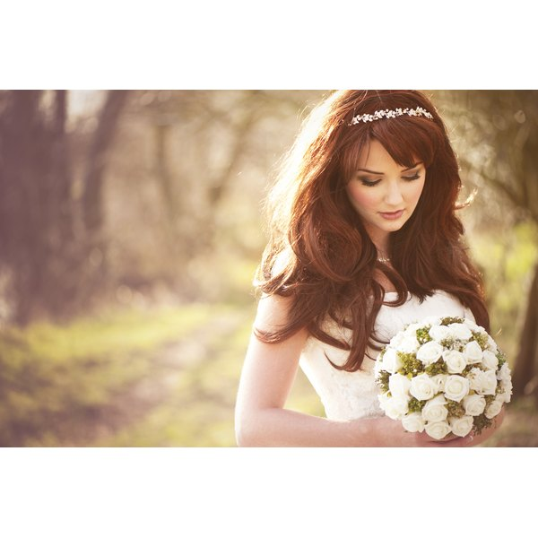 Beautiful, relaxed bride.