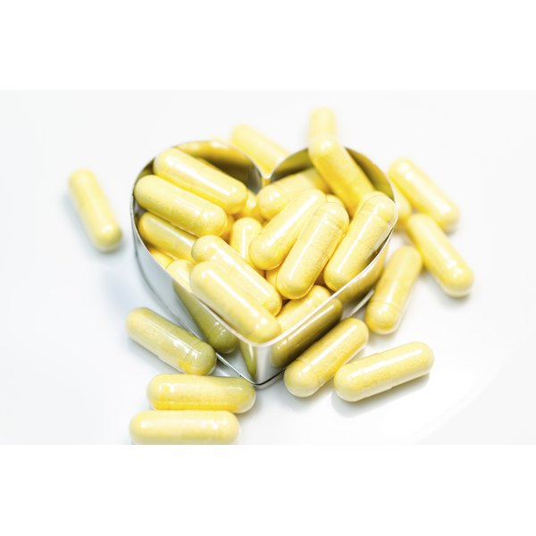 CoQ10 gel caps may be better absorbed than tablets.