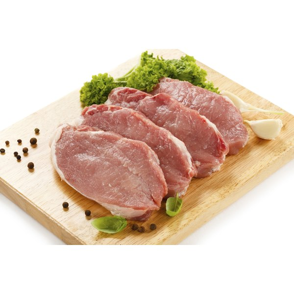 Pork chops can be healthy when prepared correctly.
