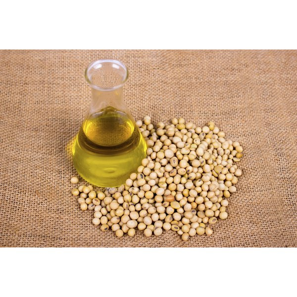 Soybean oil contains more heart-healthy unsaturated fatty acids than palm oil.