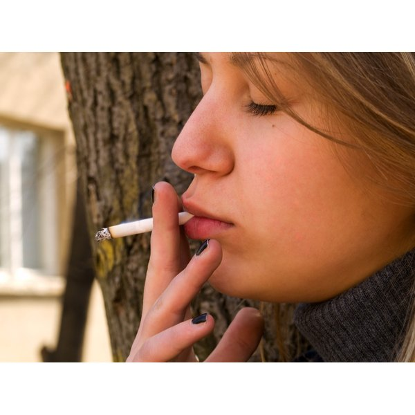 Teens who smoke face an array of health problems.