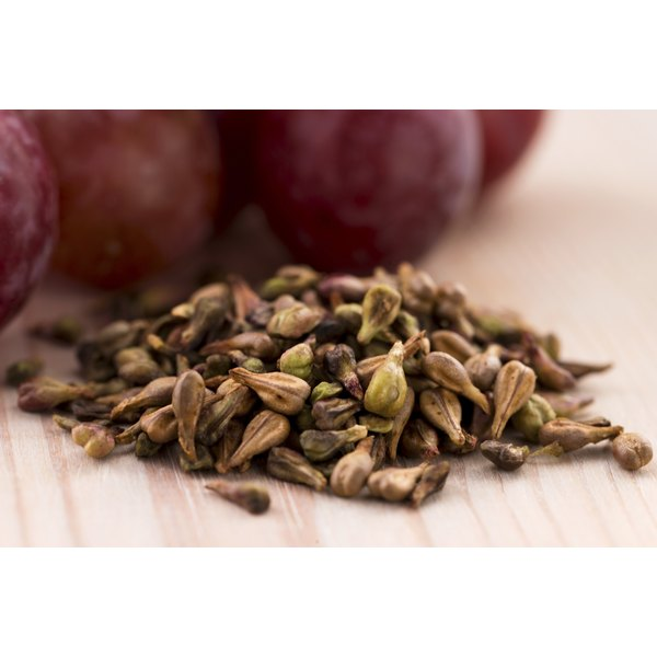 Grape seed extracts may be a helpful tool for weight loss.