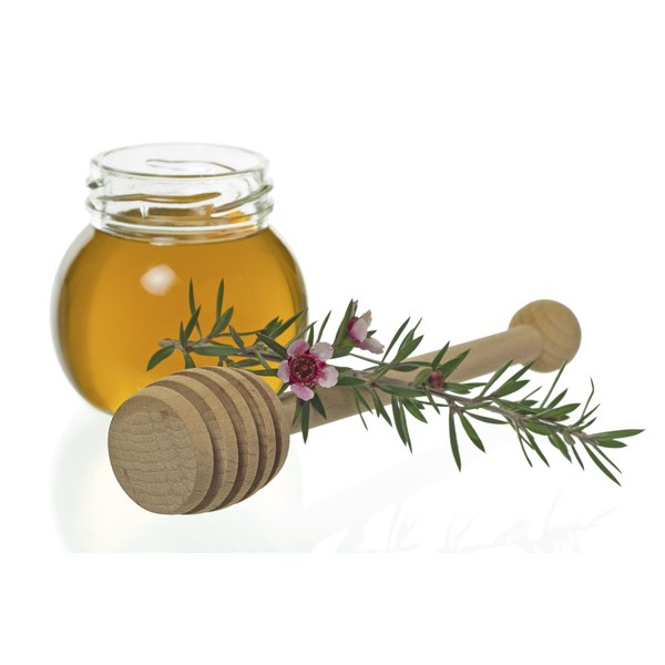Manuka honey has antiseptic properties.