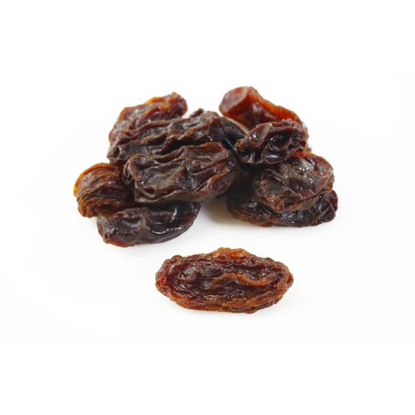 Plain raisins are lower in fat and calories than chocolate-covered ones.