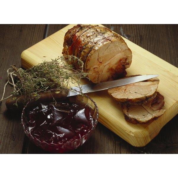 Rolled pork roast is a popular fall comfort food.